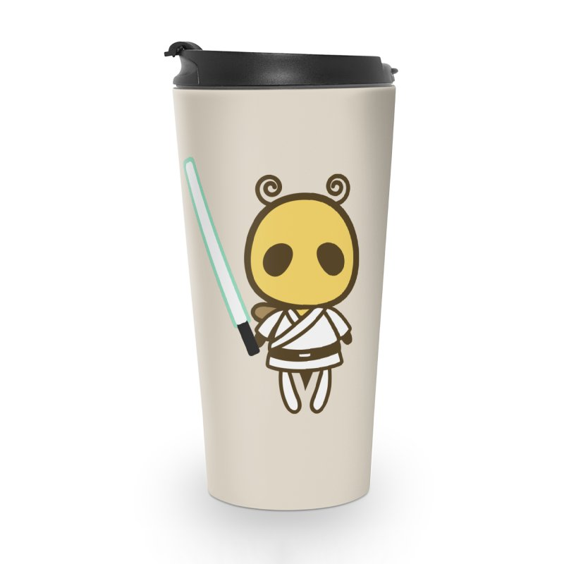 Bee Opposite - Good and Bad Accessories Travel Mug by Flying Mouse365