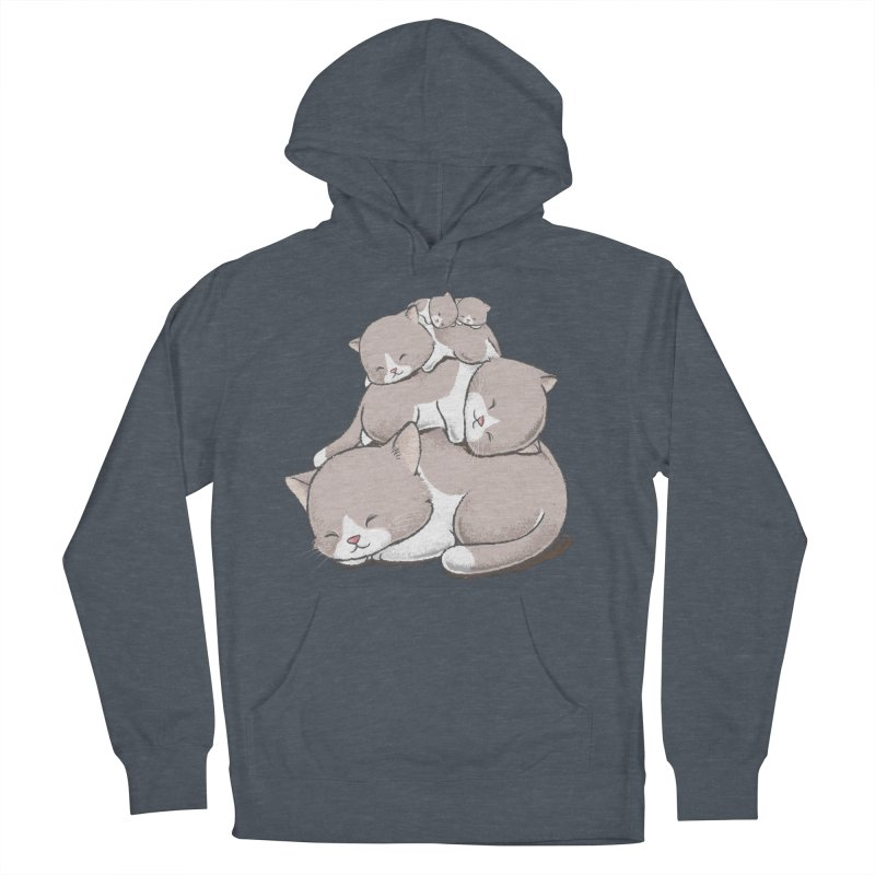 Comfy Bed - CAT Men's Pullover Hoody by Flying Mouse365
