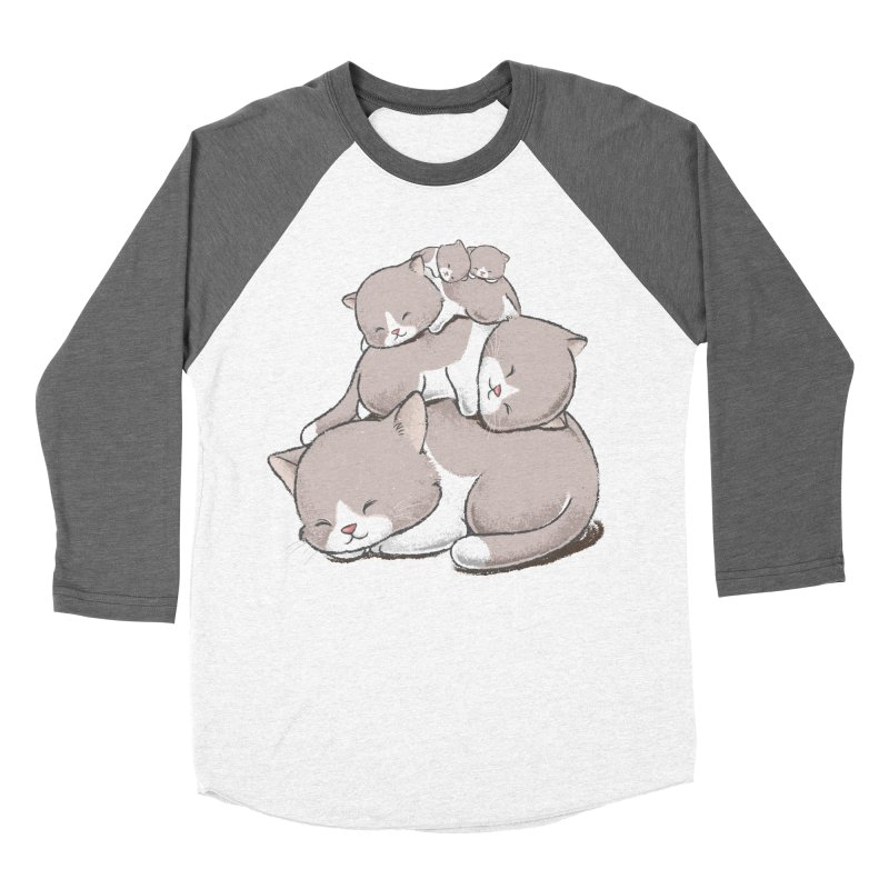 Comfy Bed - CAT Women's Longsleeve T-Shirt by Flying Mouse365