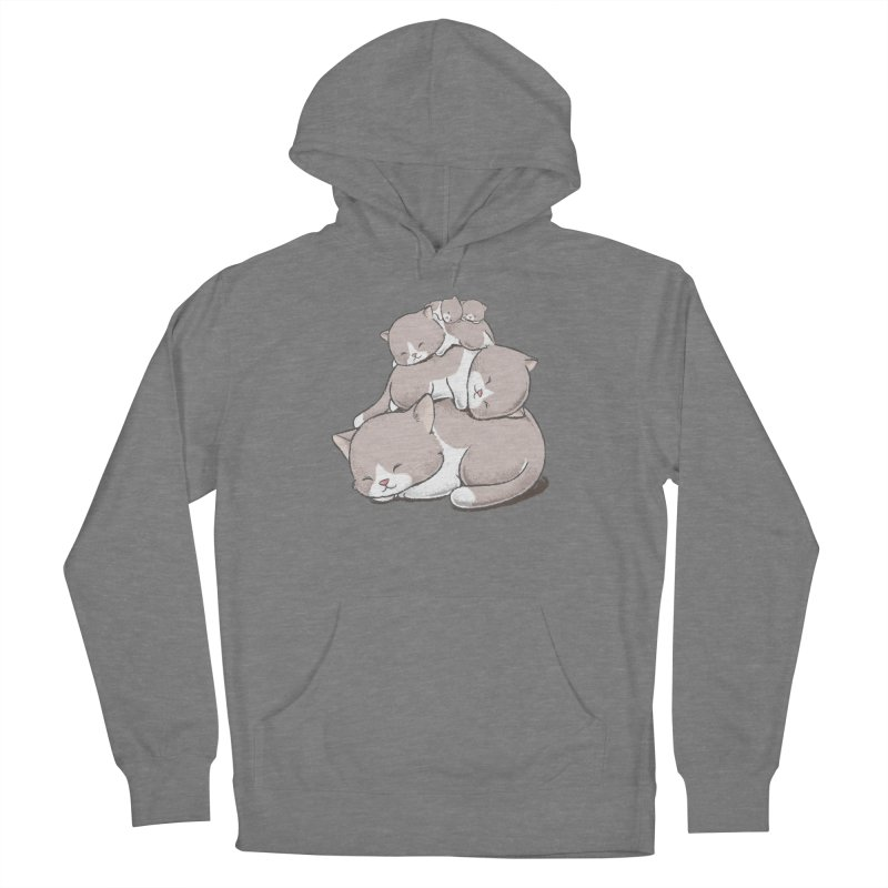 Comfy Bed - CAT Women's Pullover Hoody by Flying Mouse365