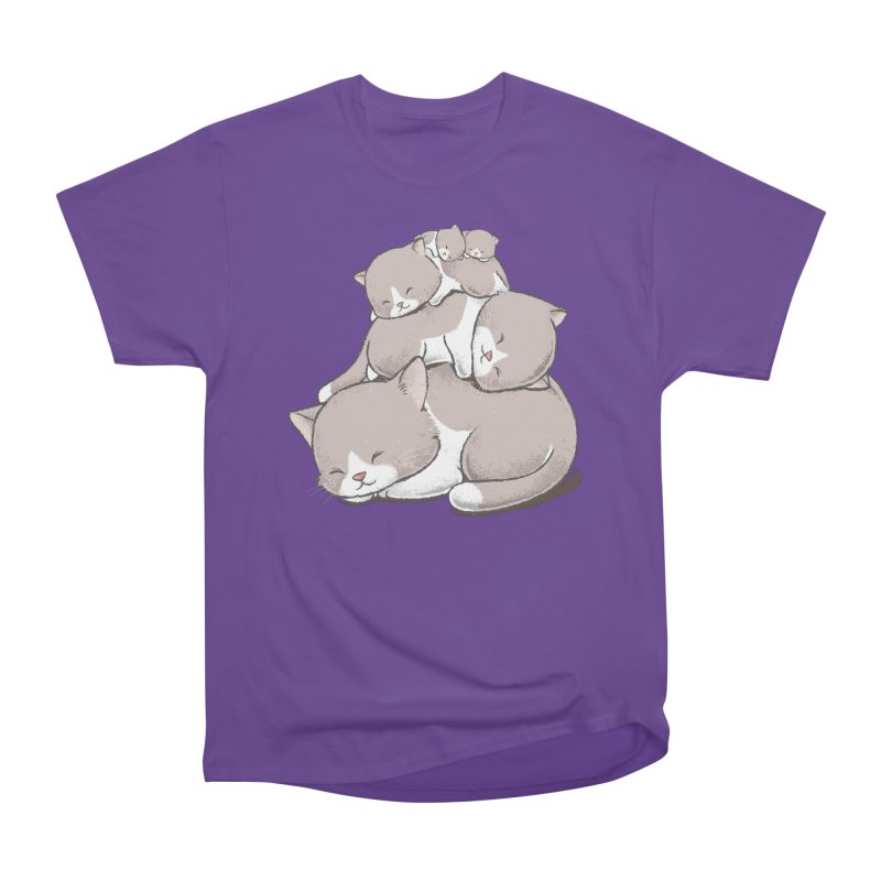 Comfy Bed - CAT Men's Classic T-Shirt by Flying Mouse365