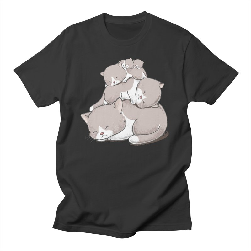 Comfy Bed - CAT Women's Unisex T-Shirt by Flying Mouse365