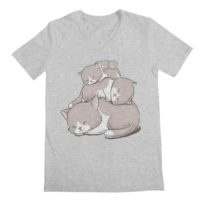 Comfy Bed - CAT Men's  by Flying Mouse365