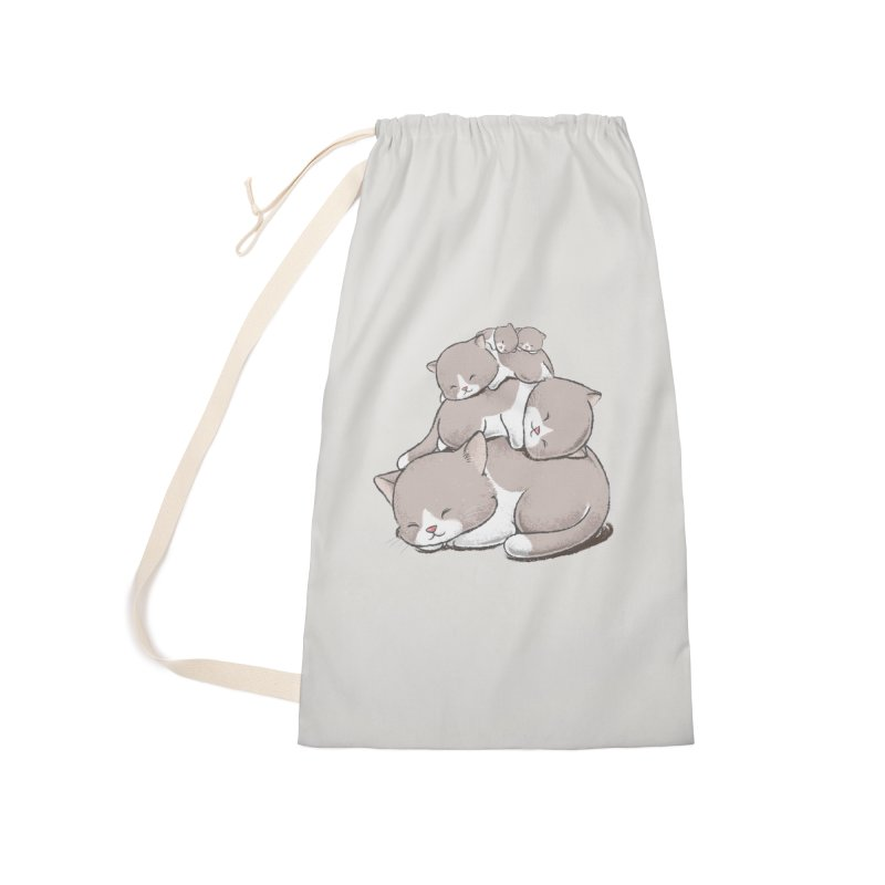 Comfy Bed - CAT Accessories Bag by Flying Mouse365