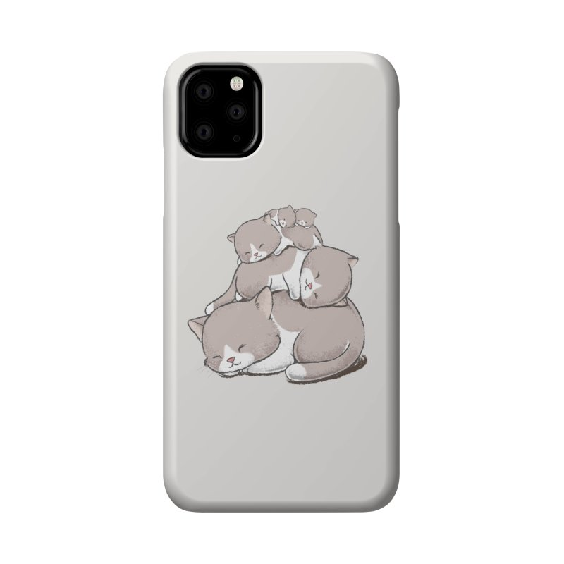 Comfy Bed - CAT Accessories Phone Case by Flying Mouse365
