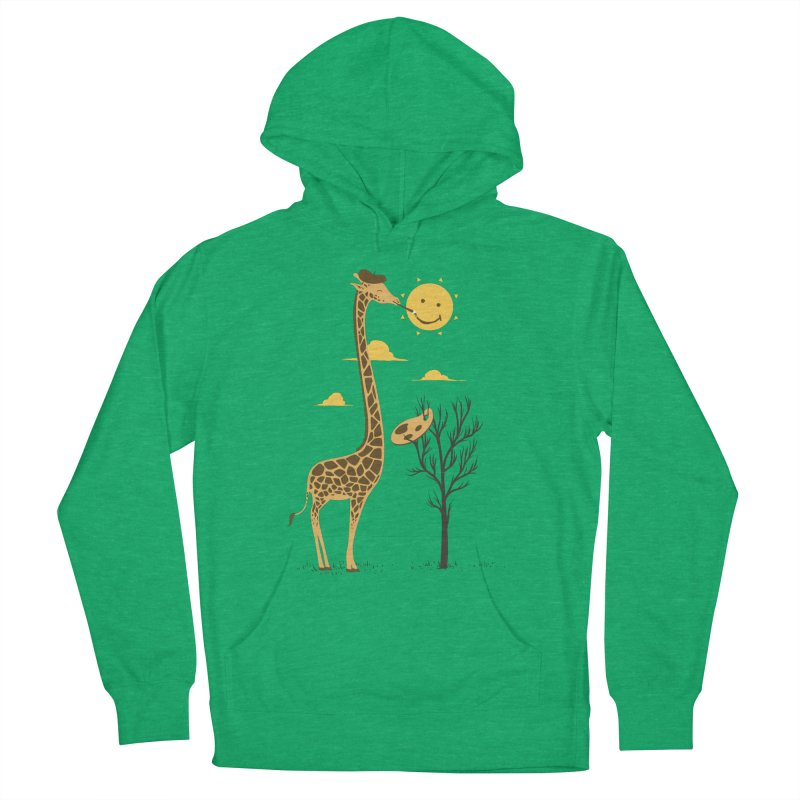 Painting Smiley Women's Pullover Hoody by Flying Mouse365