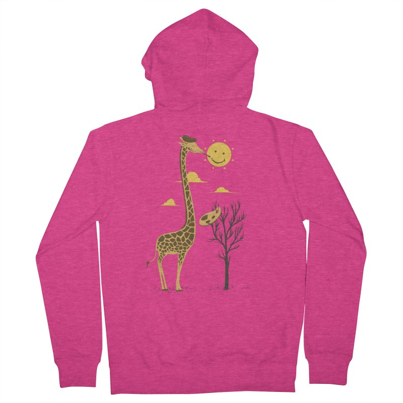 Painting Smiley Women's Zip-Up Hoody by Flying Mouse365