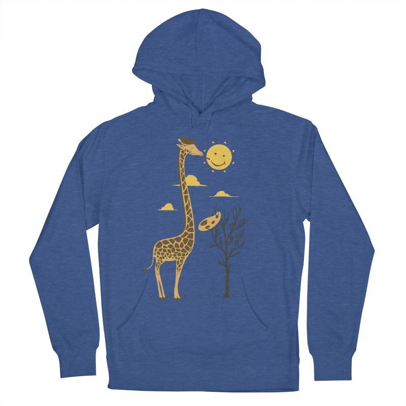 Painting Smiley Men's Pullover Hoody by Flying Mouse365