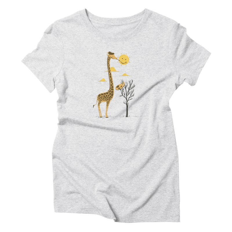 Painting Smiley Women's T-Shirt by Flying Mouse365