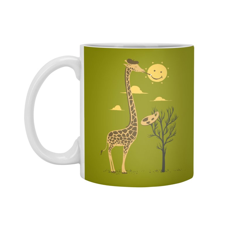 Painting Smiley Accessories Standard Mug by Flying Mouse365