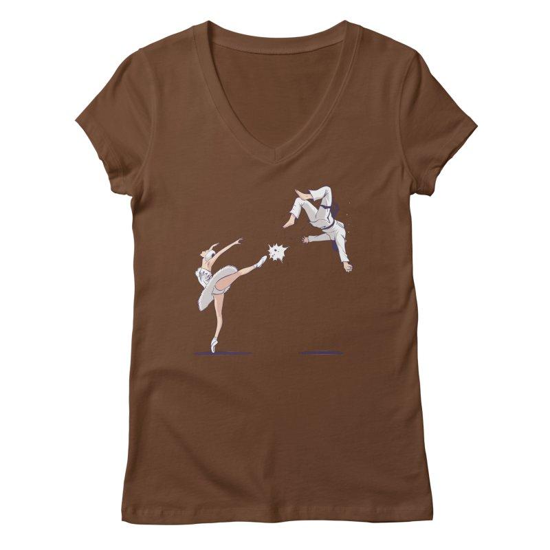 Swan Kick Women's  by Flying Mouse365