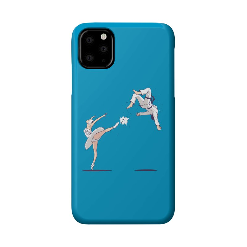 Swan Kick Accessories Phone Case by Flying Mouse365