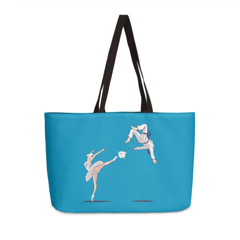 Swan Kick Accessories Bag by Flying Mouse365