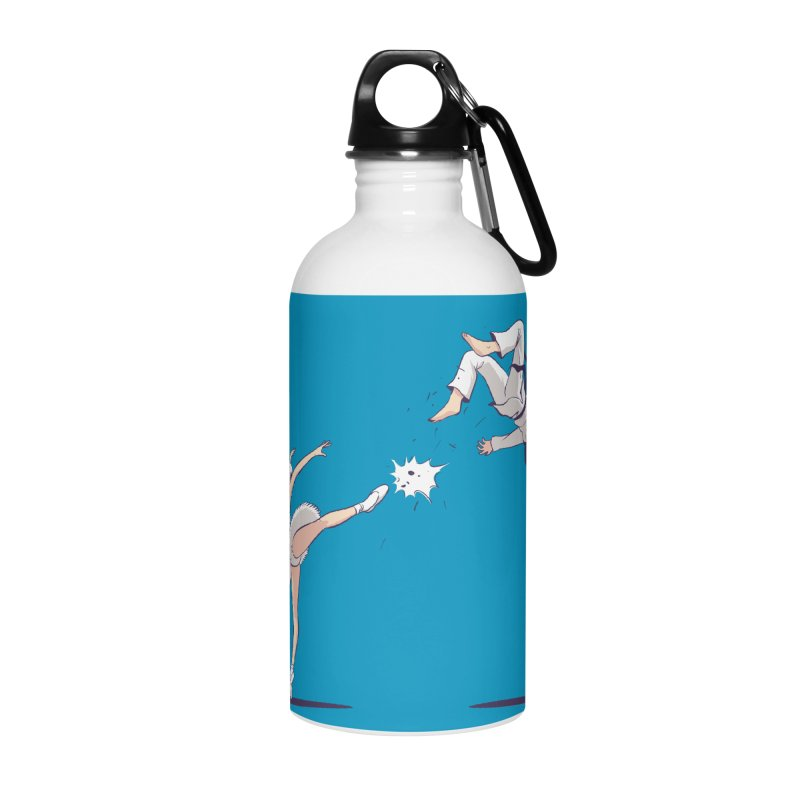 Swan Kick Accessories Water Bottle by Flying Mouse365