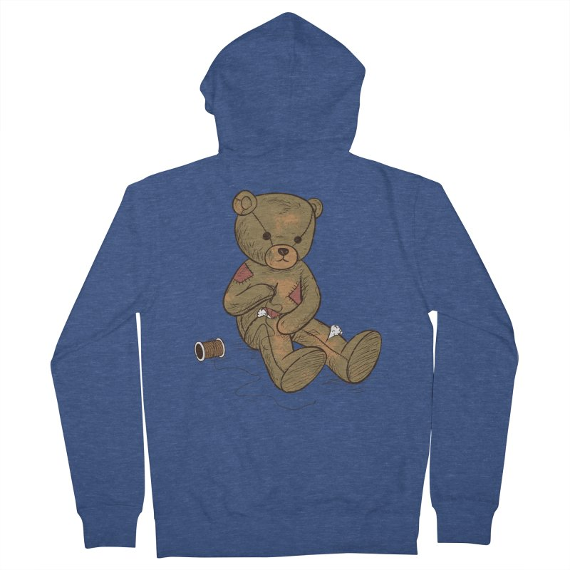 Independent Men's French Terry Zip-Up Hoody by Flying Mouse365