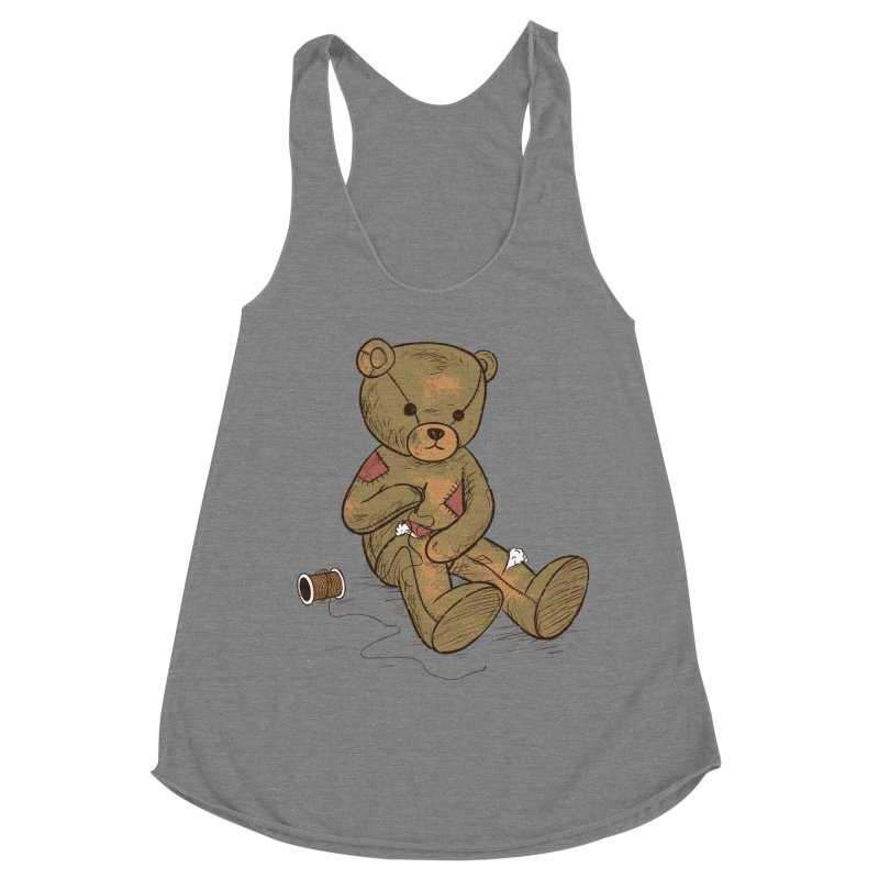 Independent Women's Racerback Triblend Tank by Flying Mouse365