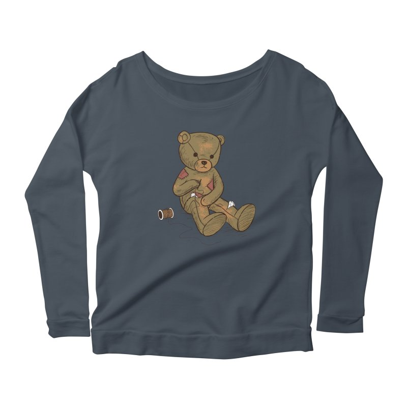 Independent Women's Scoop Neck Longsleeve T-Shirt by Flying Mouse365