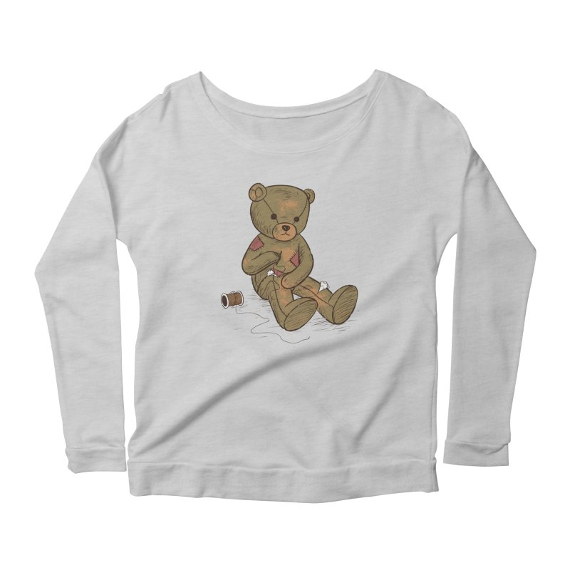 Independent Women's Longsleeve Scoopneck  by Flying Mouse365
