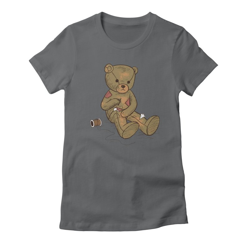Independent Women's Fitted T-Shirt by Flying Mouse365