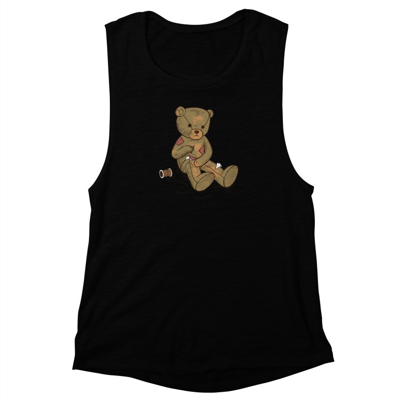Independent Women's Muscle Tank by Flying Mouse365