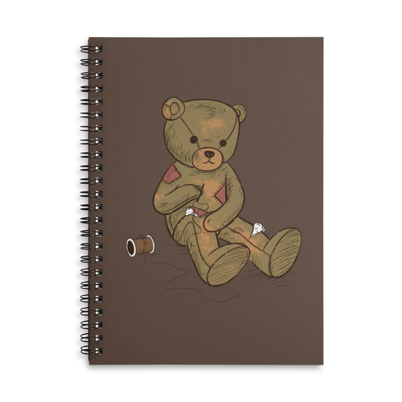 Independent Accessories Lined Spiral Notebook by Flying Mouse365