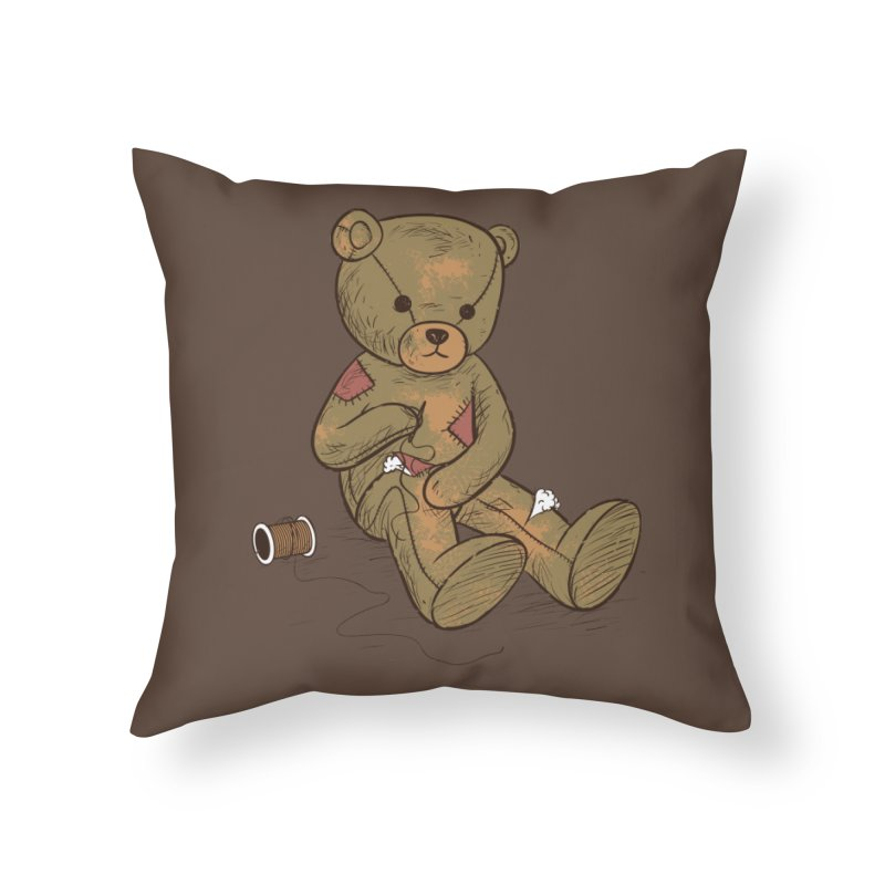Independent Home Throw Pillow by Flying Mouse365