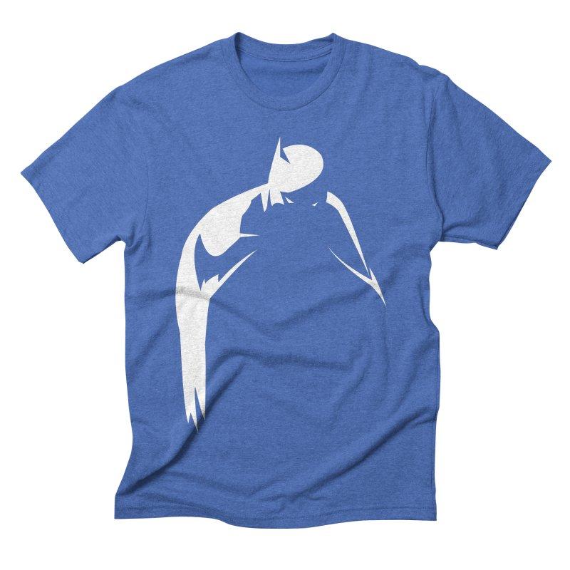 Bat Shadow Men's Triblend T-shirt by Fly Nebula Store