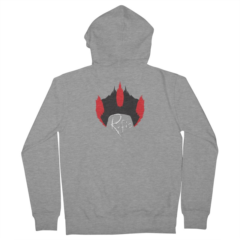 Rufio! Men's Zip-Up Hoody by Fly Nebula Store