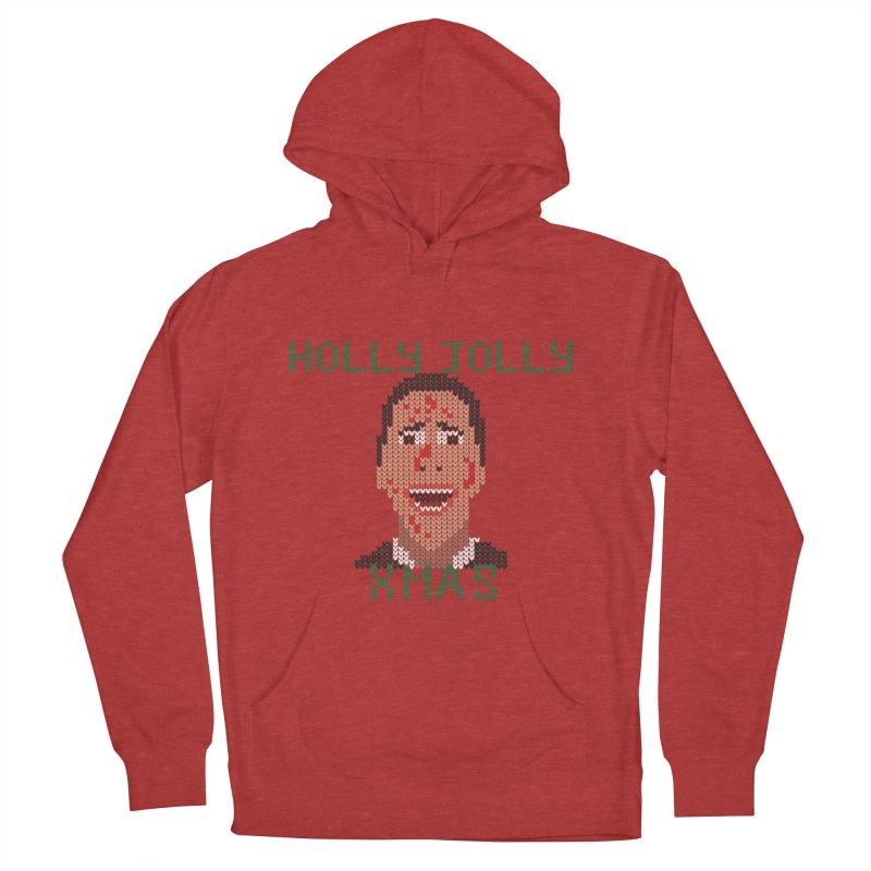 Holly Jolly Xmas Men's Pullover Hoody by Fly Nebula Store