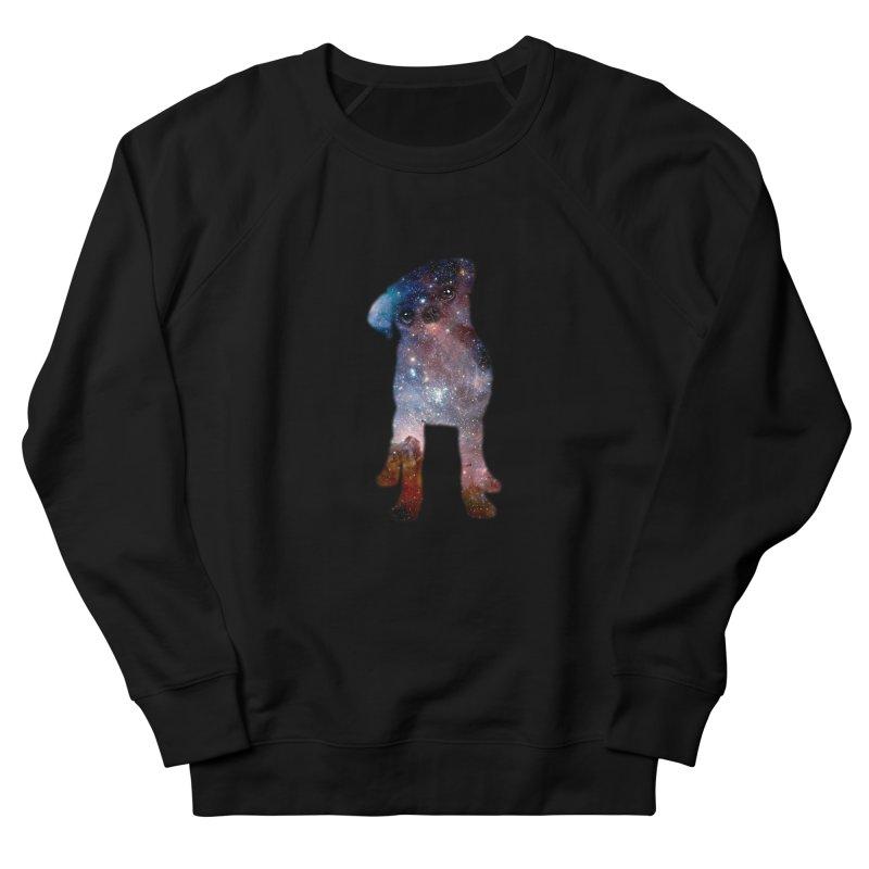 Pug Nebula Women's Sweatshirt by Fly Nebula Store