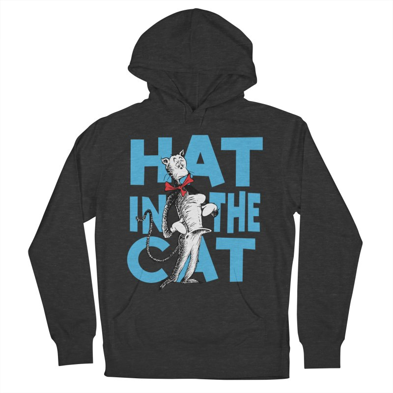 Hat in the Cat Women's French Terry Pullover Hoody by Flynnteractive's Artist Shop