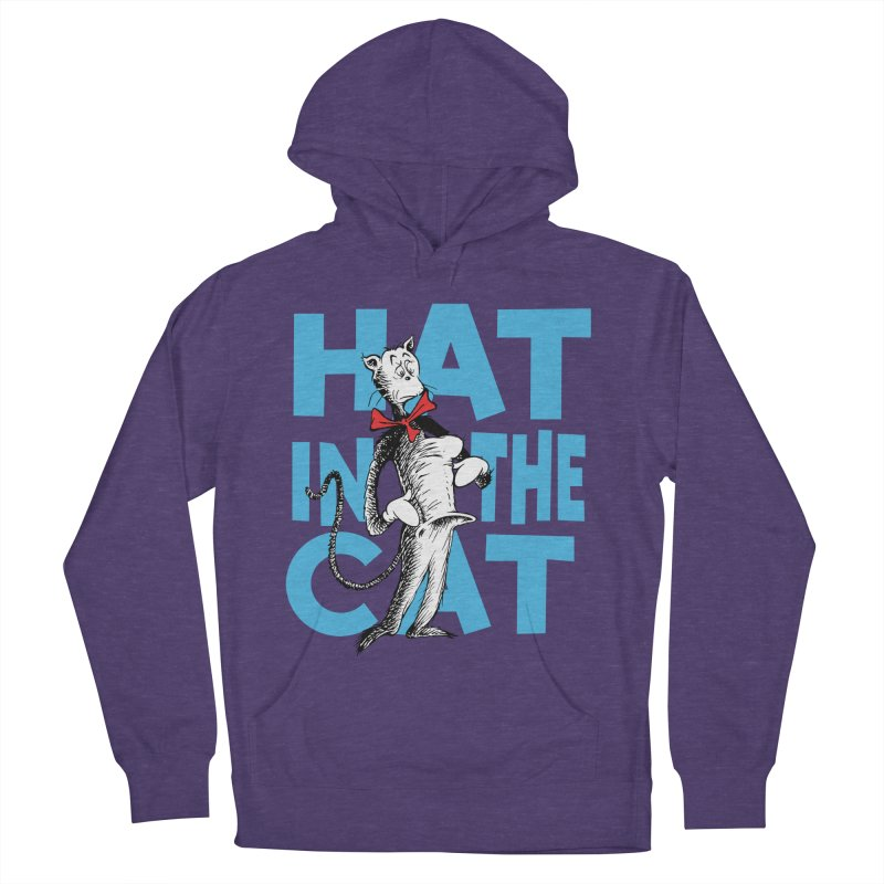 Hat in the Cat Women's Pullover Hoody by Flynnteractive's Artist Shop