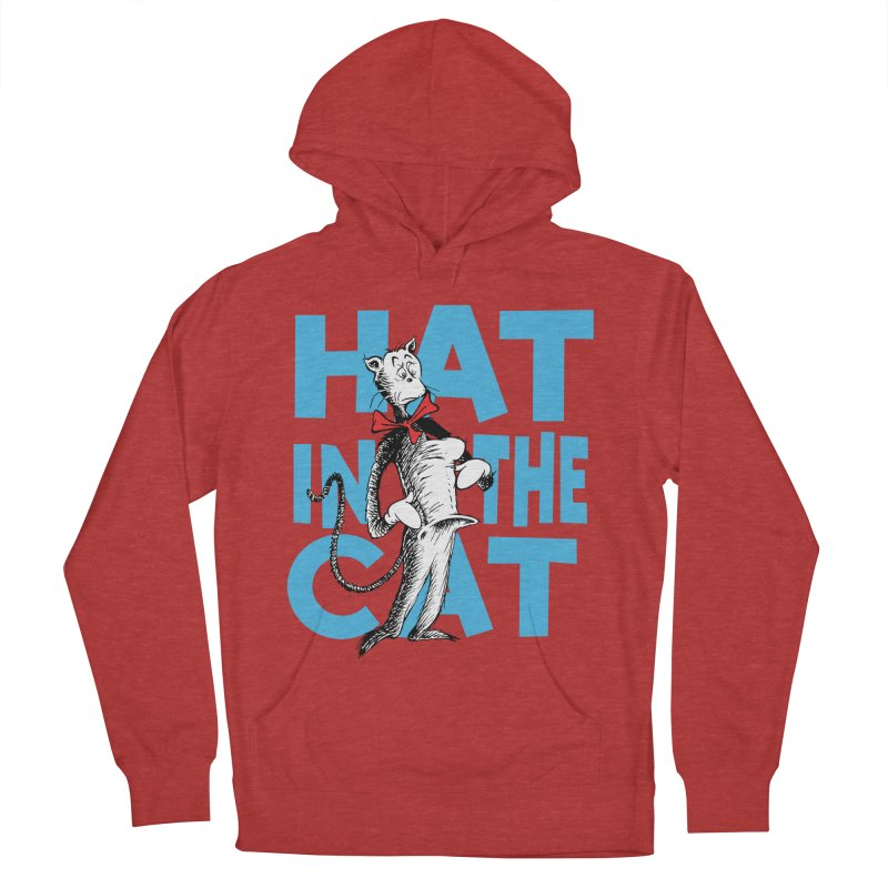 Hat in the Cat Men's Pullover Hoody by Flynnteractive's Artist Shop