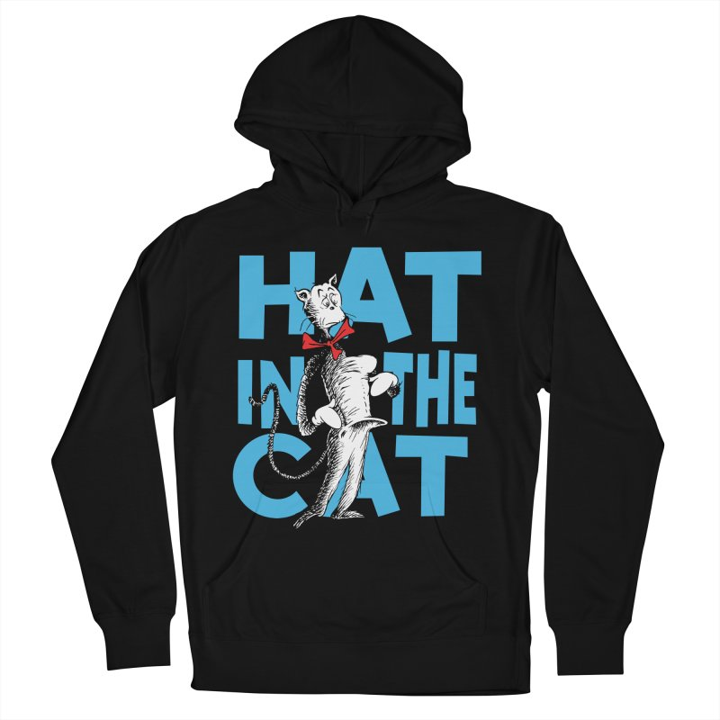 Hat in the Cat Men's French Terry Pullover Hoody by Flynnteractive's Artist Shop