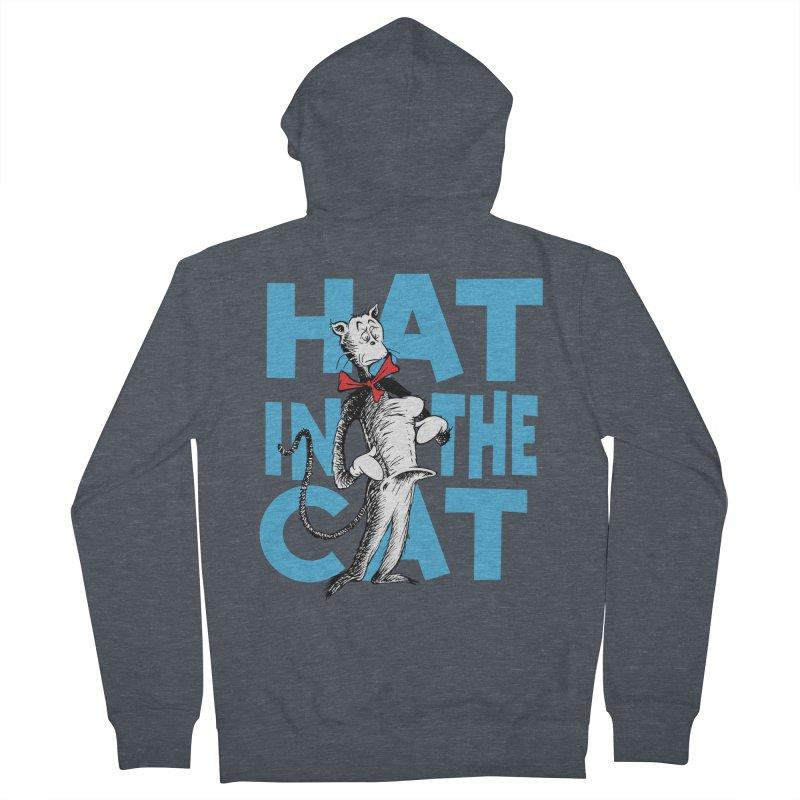Hat in the Cat Women's Zip-Up Hoody by Flynnteractive's Artist Shop
