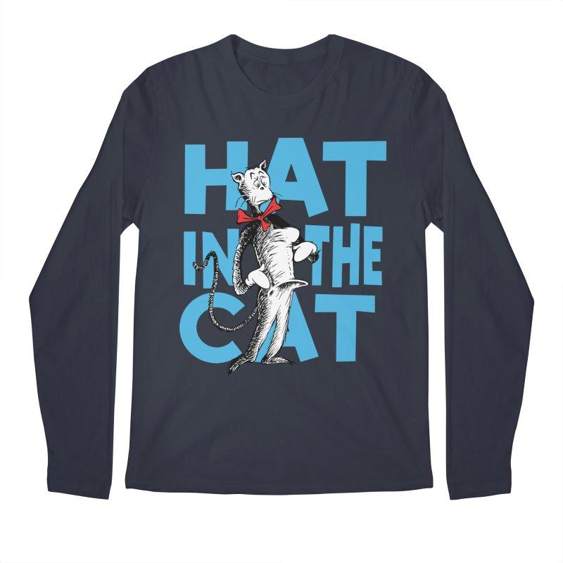 Hat in the Cat Men's Longsleeve T-Shirt by Flynnteractive's Artist Shop