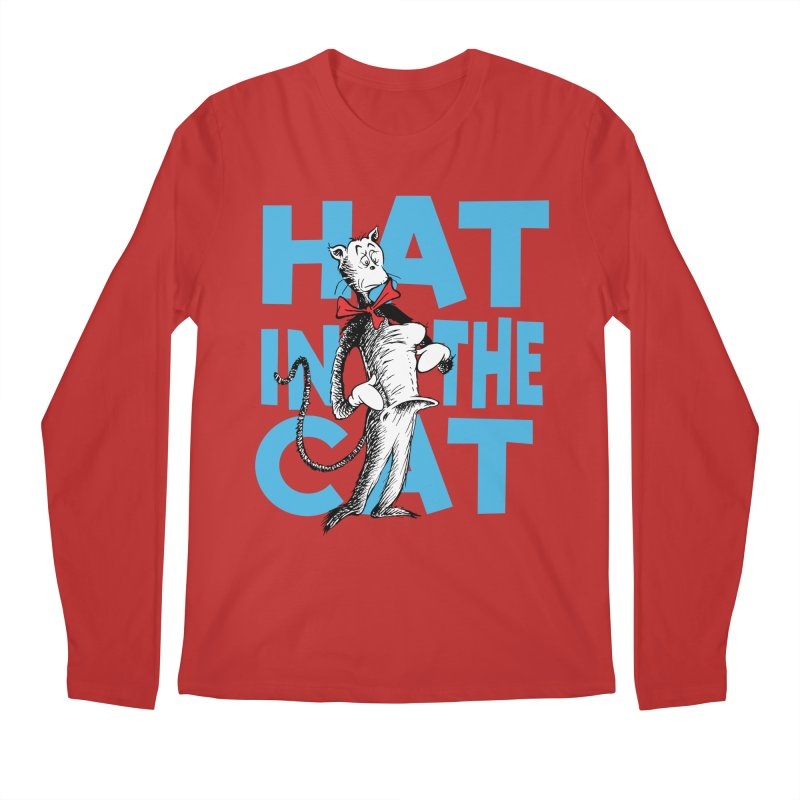 Hat in the Cat Men's Longsleeve T-Shirt by Flynnteractive's Artist Shop
