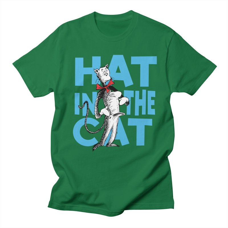 Hat in the Cat Men's T-Shirt by Flynnteractive's Artist Shop