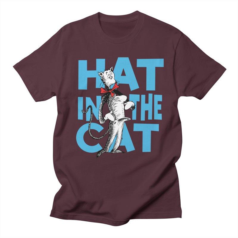Hat in the Cat Men's T-Shirt by Flynnteractive's Artist Shop