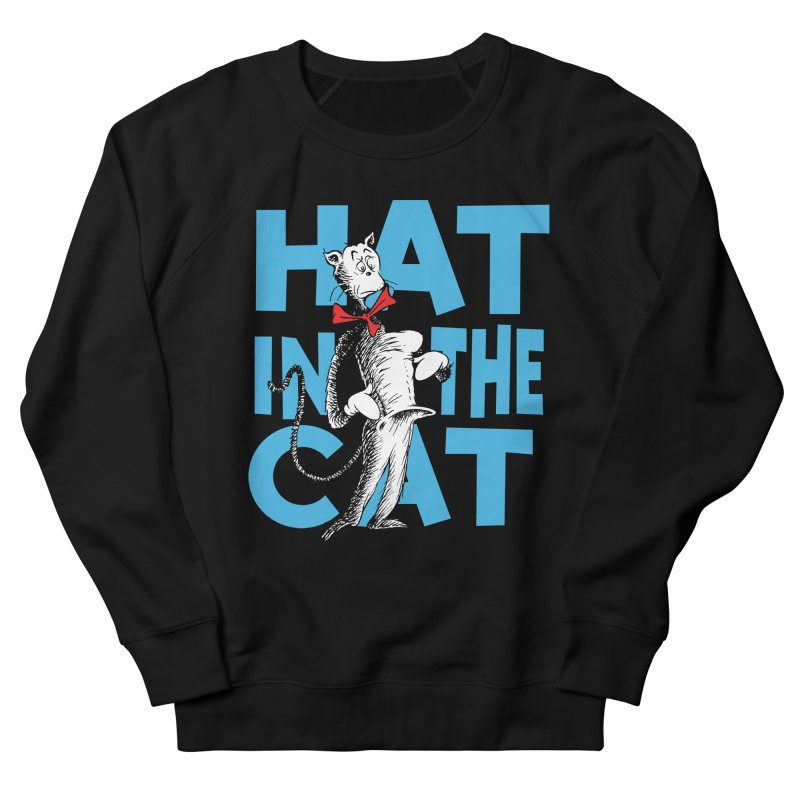 Hat in the Cat Women's French Terry Sweatshirt by Flynnteractive's Artist Shop
