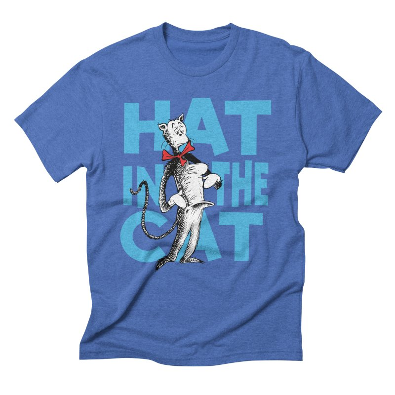 Hat in the Cat Men's Triblend T-Shirt by Flynnteractive's Artist Shop
