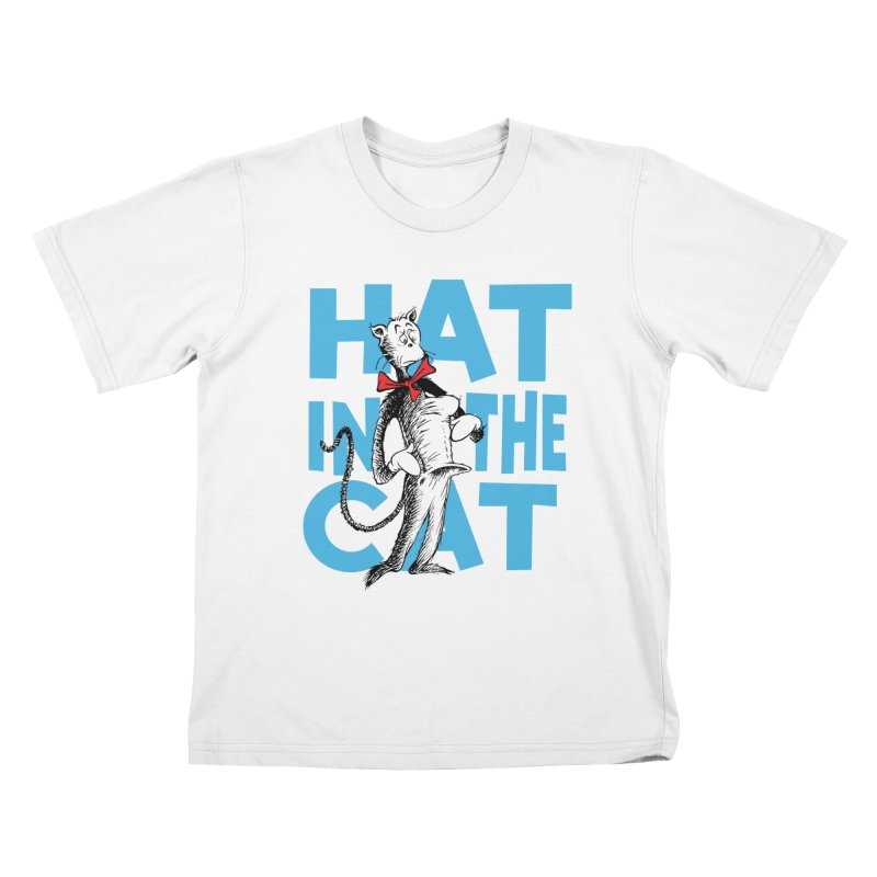 Hat in the Cat Kids T-Shirt by Flynnteractive's Artist Shop