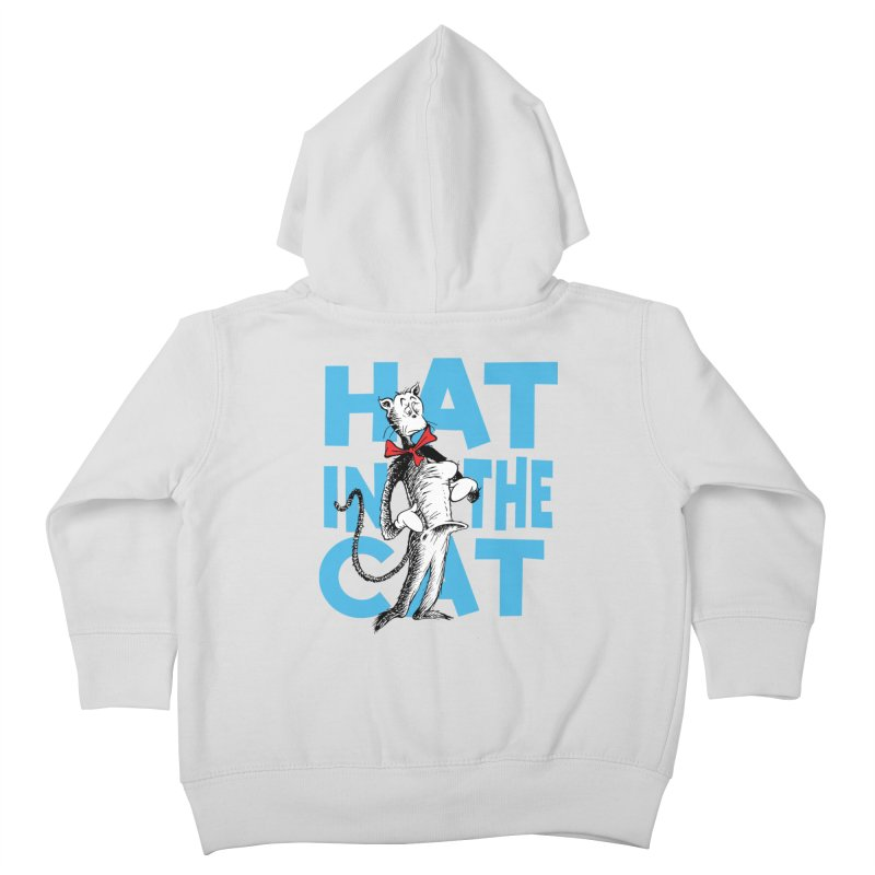 Hat in the Cat Kids Toddler Zip-Up Hoody by Flynnteractive's Artist Shop