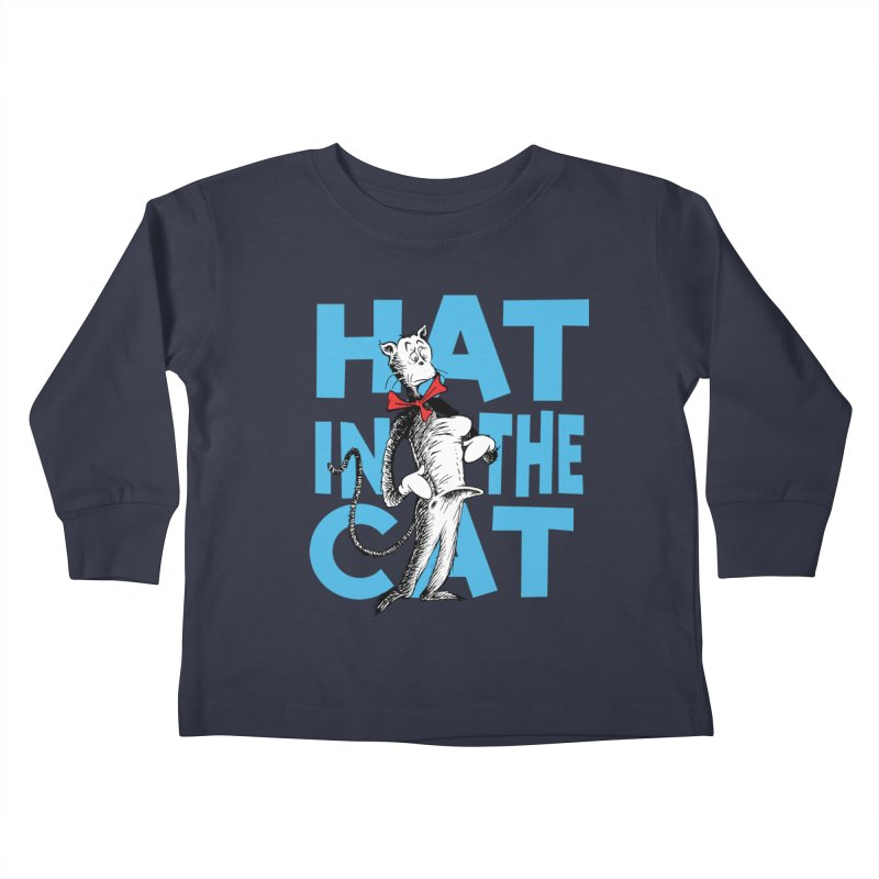 Hat in the Cat Kids Toddler Longsleeve T-Shirt by Flynnteractive's Artist Shop