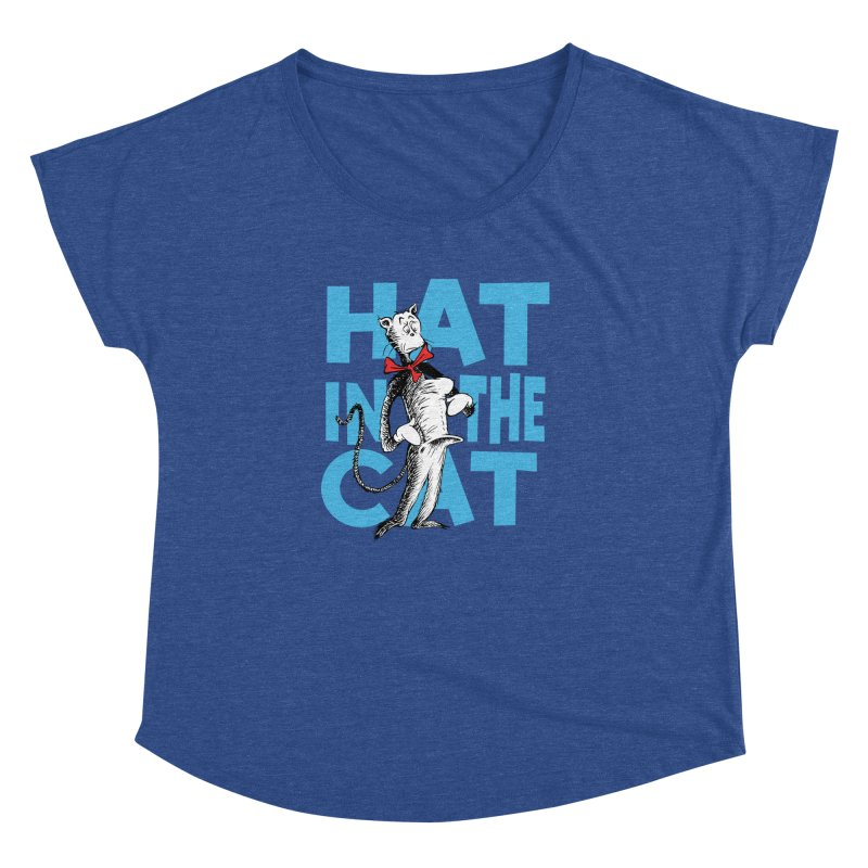 Hat in the Cat Women's Dolman by Flynnteractive's Artist Shop