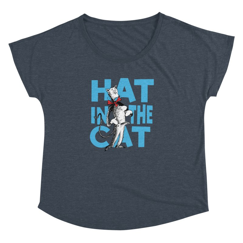 Hat in the Cat Women's Dolman by Flynnteractive's Artist Shop