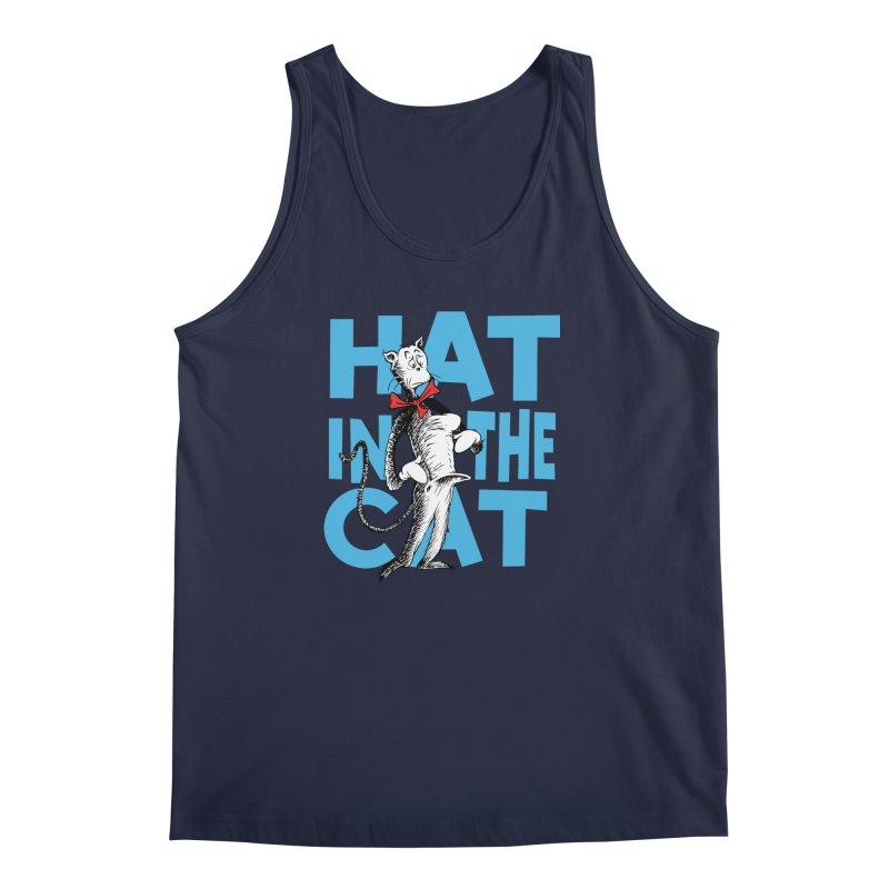Hat in the Cat Men's Tank by Flynnteractive's Artist Shop