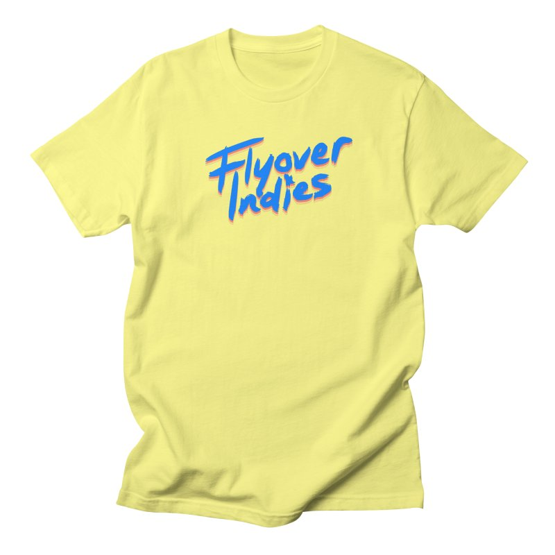 Flyover Indies Light Tri Band Men's Regular T-Shirt by Flyover Indies Shop