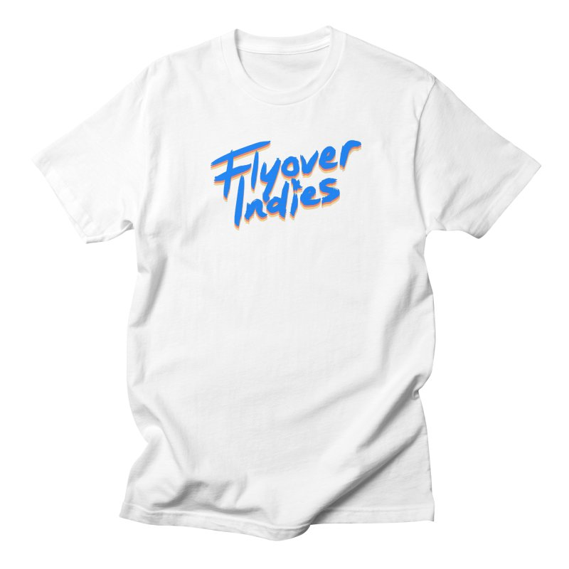 Flyover Indies Light Tri Band Men's T-Shirt by Flyover Indies Shop