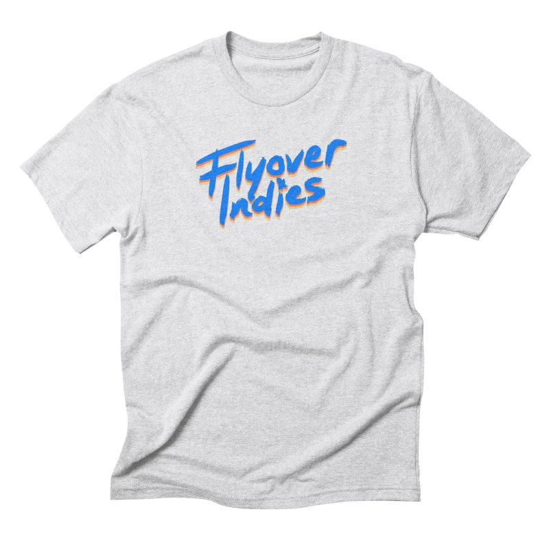 Flyover Indies Light Tri Band Men's Triblend T-Shirt by Flyover Indies Shop